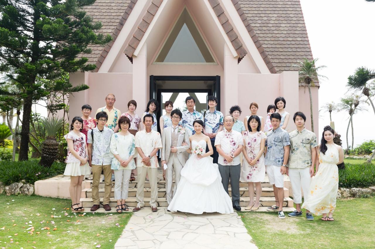 かりゆしウェディング フォトライブラリー 007  福岡県 Y.Y様