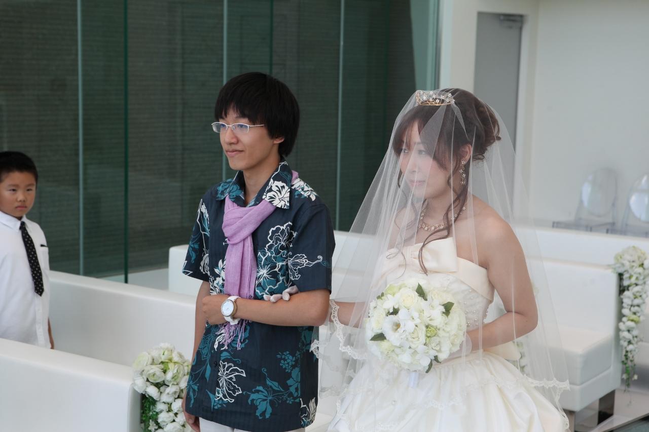 かりゆしウェディング フォトライブラリー 005  東京都 M.Y様