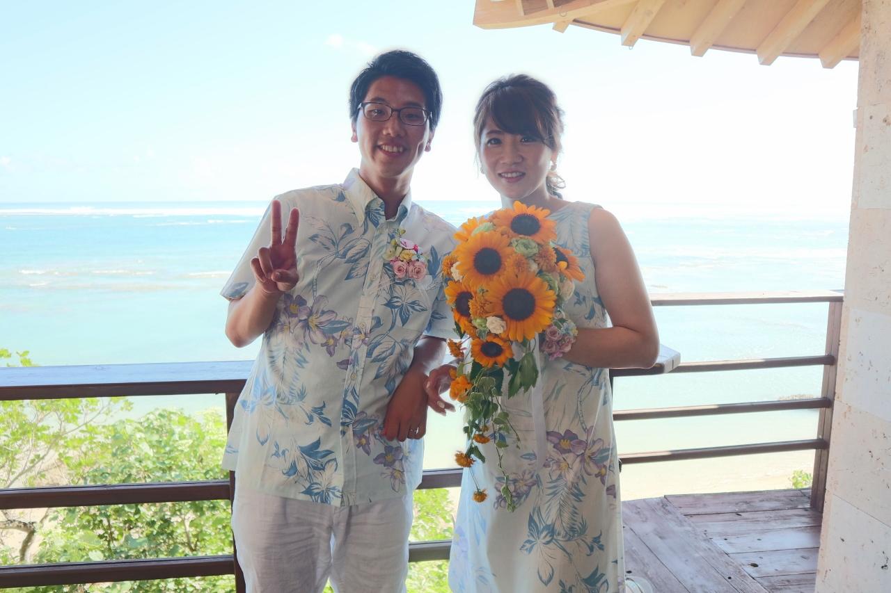 かりゆしウェディング フォトライブラリー 054 神奈川県 waka様